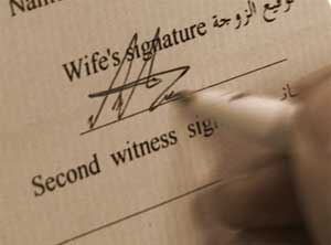 Types of conditions in the marriage contract | Talibatul `ilm